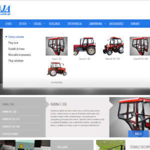 Koja – manufacturer cabs Tractor